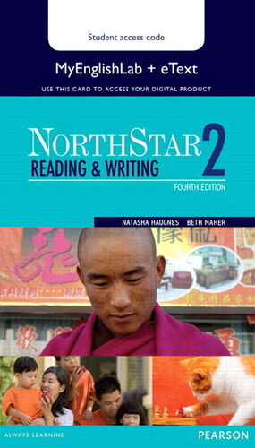 NORTHSTAR READING WRITING 2 15 ETEXT WITH MYENGL.