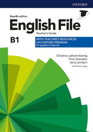 ENGLISH FILE 4TH ED PRE-INT. TEACHER'S GUIDE + TEACHER'S RESOURCE