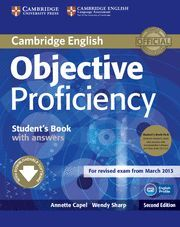 OBJECTIVE PROFICIENCY STUDENT'S BOOK PACK (STUDENT'S BOOK WITH ANSWERS WITH DOWN