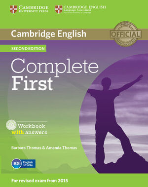 COMPLETE FIRST WORKBOOK WITH ANSWERS WITH AUDIO CD 2ND EDITION