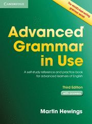 ADVANCED GRAMMAR IN USE BOOK WITH ANSWERS, THIRD EDITION