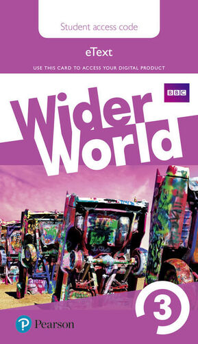 WIDER WORLD 3 STUDENTS' EBOOK AC