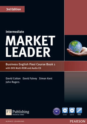 MARKET LEADER INTERMEDIATE FLEXI COURSE BOOK 1 PACK