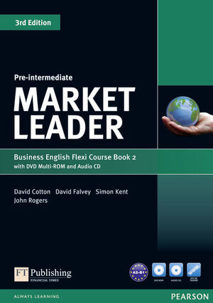 MARKET LEADER PRE-INTERMEDIATE FLEXI COURSE BOOK 2 PACK