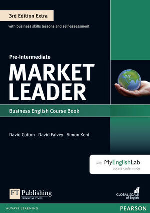 MARKET LEADER 3RD EDITION EXTRA PRE-INTERMEDIATE COURSEBOOK WITH DVD-ROMAND MYEN