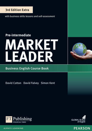 MARKET LEADER 3RD EDITION EXTRA PRE-INTERMEDIATE COURSEBOOK WITH DVD-ROMPACK