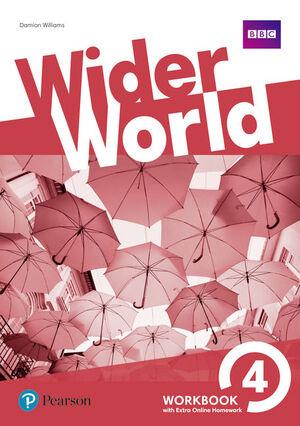 WIDER WORLD 4 WB W/ ONLINE HOMEWORK PACK