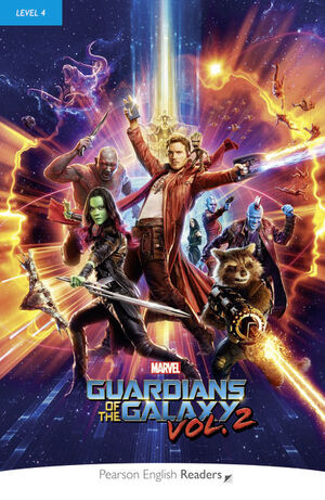LEVEL 4: MARVEL'S THE GUARDIANS OF THE GALAXY VOL.2 BOOK & MP3 PACK