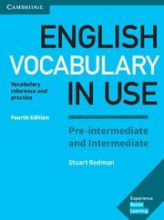 ENGLISH VOCABULARY IN USE PRE-INTERMEDIATE AND INTERMEDIATE BOOK WITH ANSWERS 4T