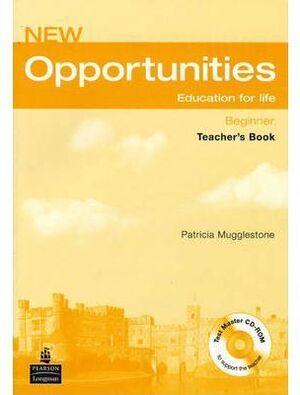 NEW OPPORTUNITIES BEGINNER TEACHER'S PACK