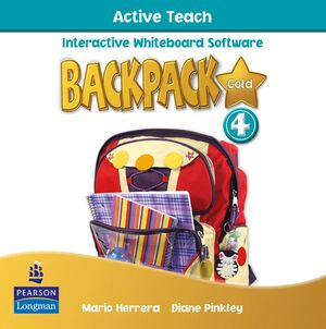 BACKPACK GOLD 4 ACTIVE TEACH NEW EDITION