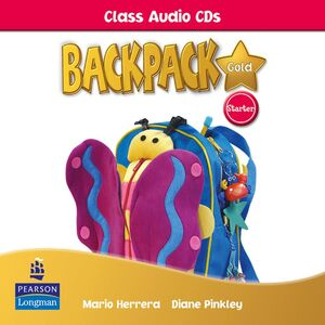 BACKPACK GOLD STARTER CLASS AUDIO CD NEW EDITION