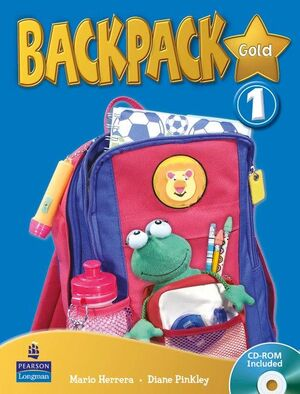 BACKPACK GOLD 1 STUDENTS BOOK AND CD ROM N/E PACK