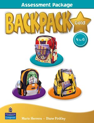 BACKPACK GOLD ASSESSMENT BOOK & M-ROM 4-6 N/E PACK