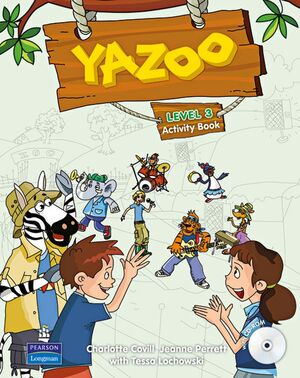 YAZOO GLOBAL LEVEL 3 ACTIVITY BOOK AND CD ROM PACK