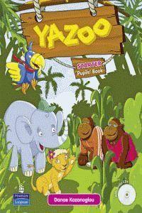 (10).YAZOO GLOBA STARTER (PUPILS BOOK) +CD PACK