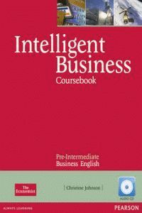 INTELLIGENT BUSINESS PRE-INTERMEDIATE COURSEBOOK/CD PACK