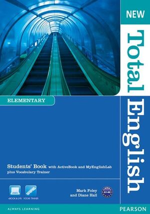 NEW TOTAL ENGLISH ELEMENTARY STUDENTS' BOOK WITH ACTIVE BOOK AND MYLAB PACK
