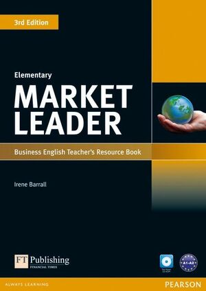 MARKET LEADER 3RD EDITION ELEMENTARY TEACHER'S RESOURCE BOOK/TEST MASTER CD-ROM