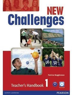 NEW CHALLENGES 1 TEACHER'S HANDBOOK & MULTI-ROM PACK