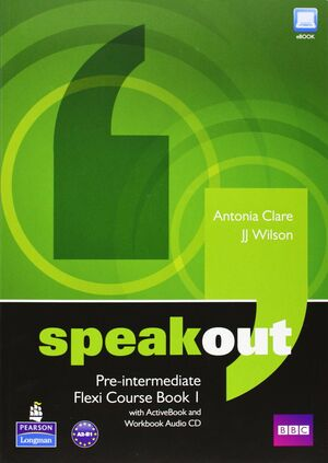 SPEAKOUT PREINTERMEDIATE FLEXI COURSEBOOK 1 PACK
