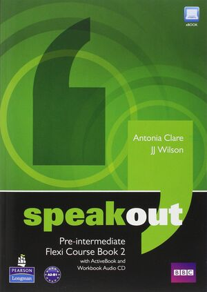 SPEAKOUT PREINTERMEDIATE FLEXI COURSEBOOK 2 PACK