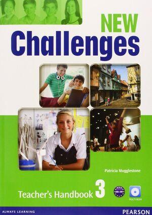 NEW CHALLENGES 3 TEACHER'S HANDBOOK & MULTI-ROM PACK