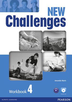 NEW CHALLENGES 4 WORKBOOK & AUDIO CD PACK