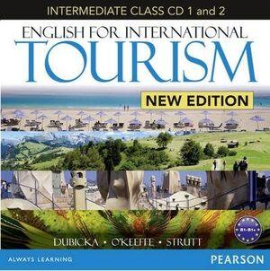 ENGLISH FOR INTERNATIONAL TOURISM INTERMEDIATE CLASS AUDIO CDS (2) (NE)
