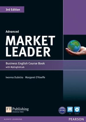 MARKET LEADER 3RD EDITION ADVANCED COURSEBOOK WITH DVD-ROM AND MY ENGLISHLAB ACC