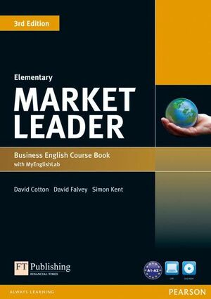 MARKET LEADER 3RD EDITION ELEMENTARY COURSEBOOK WITH DVD-ROM AND MY ENGLISHLAB S