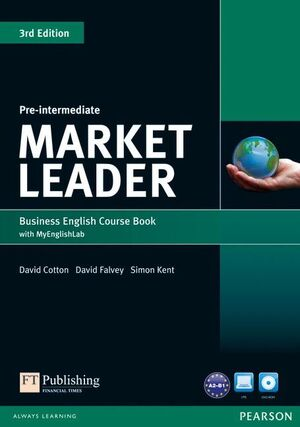 MARKET LEADER 3RD EDITION PRE-INTERMEDIATE COURSEBOOK WITH DVD-ROM ANDMY ENGLISH