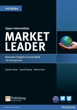 MARKET LEADER 3RD EDITION UPPER INTERMEDIATE COURSEBOOK WITH DVD-ROM AND MYLAB A
