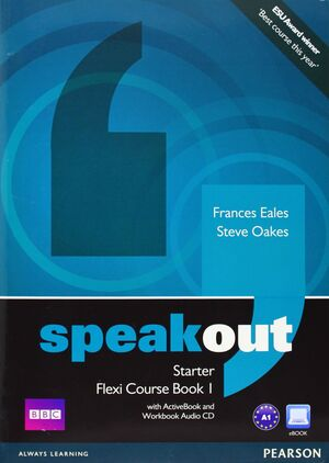 SPEAKOUT STARTER FLEXI COURSEBOOK 1 PACK