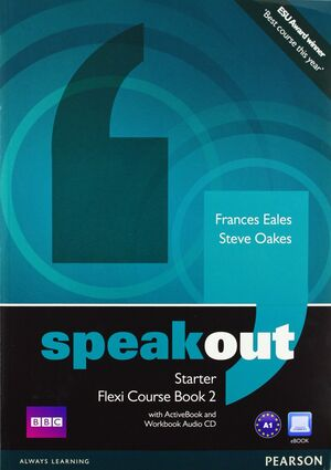 SPEAKOUT STARTER FLEXI COURSEBOOK 2 PACK