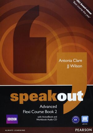 SPEAKOUT ADVANCED FLEXI COURSEBOOK 2 PACK