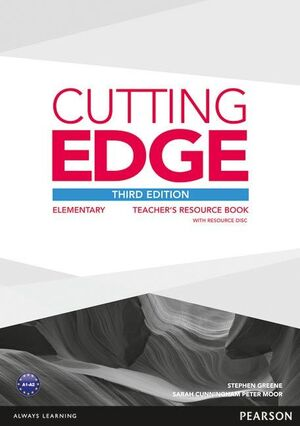 CUTTING EDGE 3RD EDITION ELEMENTARY TEACHER'S BOOK WITH TEACHER'S RESOURCES DISK