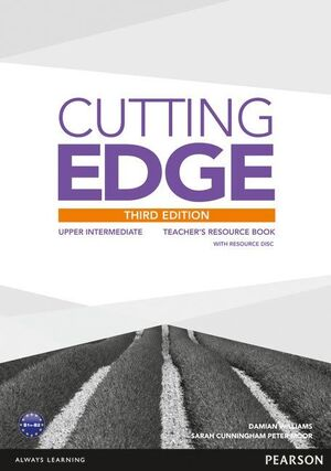 CUTTING EDGE 3RD EDITION UPPER INTERMEDIATE TEACHER'S BOOK AND TEACHER'S RESOURC