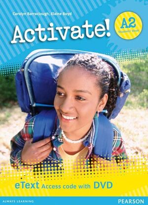 ACTIVATE! A2 STUDENTS' BOOK ETEXT ACCESS CARD WITH DVD
