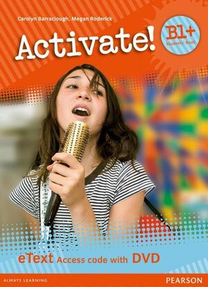ACTIVATE! B1+ STUDENTS' BOOK ETEXT ACCESS CARD WITH DVD