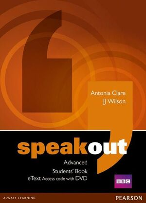 SPEAKOUT ADVANCED STUDENTS' BOOK ETEXT ACCESS CARD WITH DVD