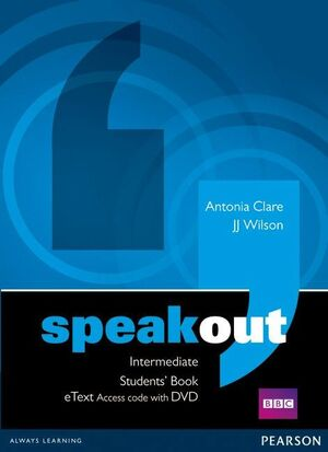 SPEAKOUT INTERMEDIATE STUDENTS' BOOK ETEXT ACCESS CARD WITH DVD