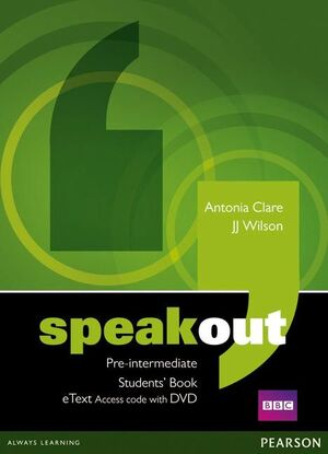 SPEAKOUT PRE-INTERMEDIATE STUDENTS' BOOK ETEXT ACCESS CARD WITH DVD