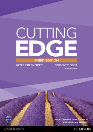 CUTTING EDGE 3RD EDITION UPPER INTERMEDIATE STUDENTS' BOOK WITH DVD ANDMYENGLISH