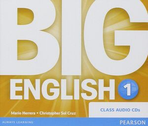 CDS AUDIO BIG ENGLISH 1 CLASS AUDIO CDS