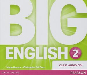 CDS AUDIO BIG ENGLISH 2 CLASS AUDIO CDS