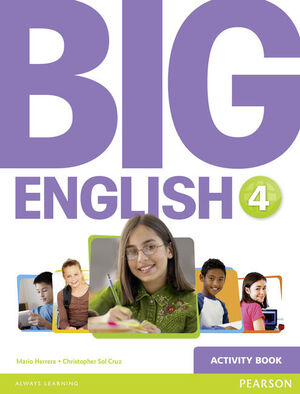 BIG ENGLISH 4 ACTIVITY BOOK