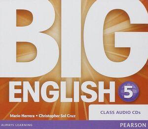 CDS AUDIO BIG ENGLISH 5 CLASS AUDIO CDS