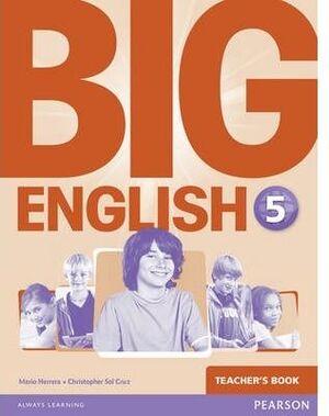 BIG ENGLISH 5 TEACHER`S BOOK