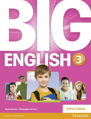 BIG ENGLISH 3 PUPILS BOOK STAND ALONE